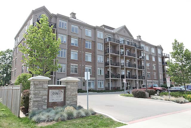 396 Plains Road East, Burlington - Westwood condominiums in Aldershot Village.