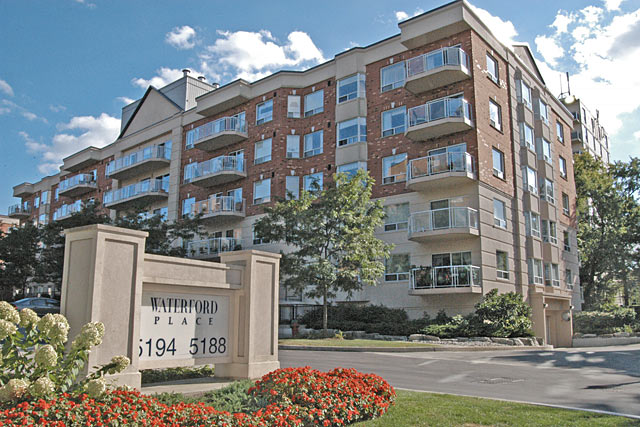 5188-5194 Lakeshore Road, Burlington - Waterford Place waterfront condominiums