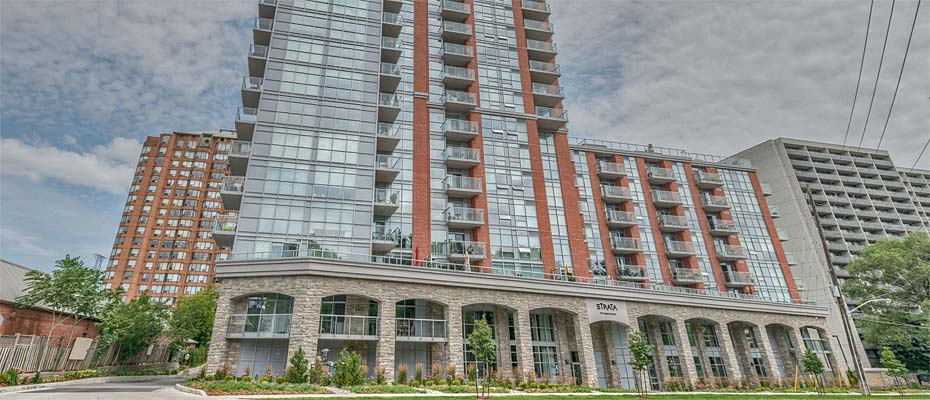 551 Maple Avenue, Burlington - Strata condominium in Downtown Burlington.