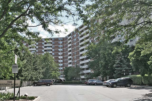 700 Dynes Road, Burlngton - The Empress condominiums.
